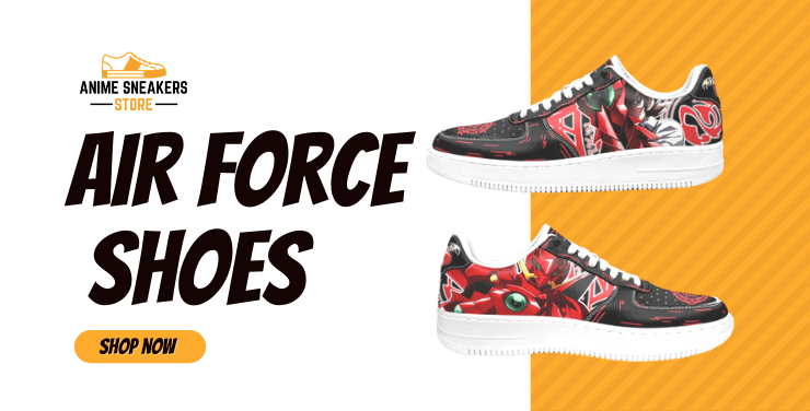 Custom Anime Air Force Shoes