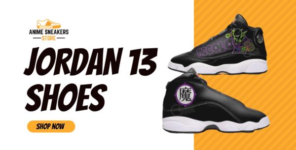 Custom Anime Jordan 13 Shoes