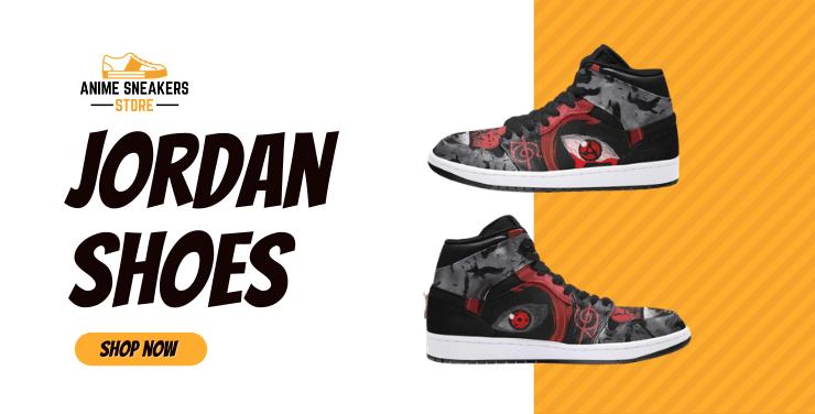 Custom Anime Jordan Shoes