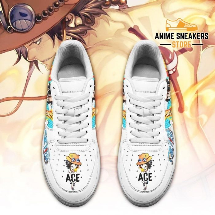 Ace Sneakers Custom One Piece Anime Shoes Fan Pt04 Air Force
