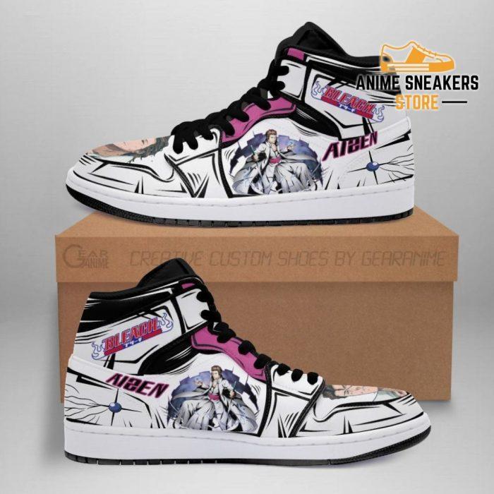 Aizen Bleach Anime Sneakers Fan Gift Idea Mn05 Men / Us6.5 Jd