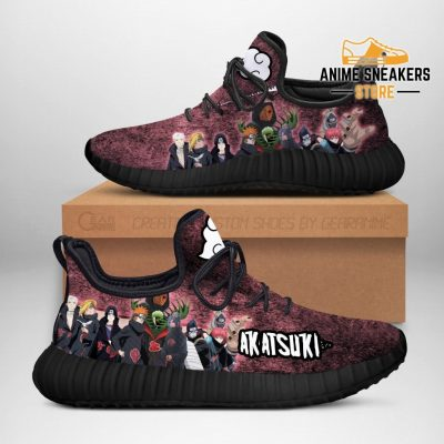Akatsuki Clan Members Reze Shoes Naruto Anime Fan Gift Idea Tt05 Men / Us6