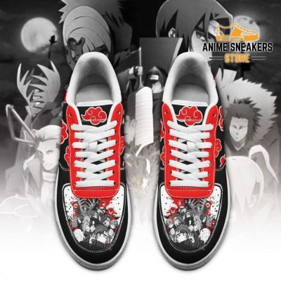 Akatsuki Cloud Shoes Black Naruto Anime Custom Air Force