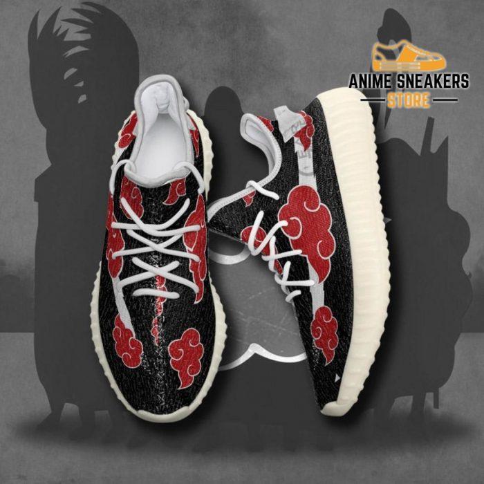 Akatsuki Cloud Shoes Black Naruto Anime Sneakers Yeezy