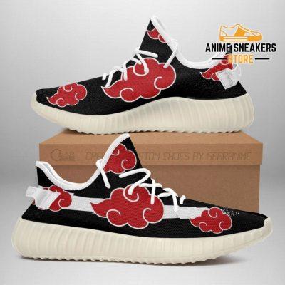 Akatsuki Cloud Shoes Black Naruto Anime Sneakers Men / Us6 Yeezy