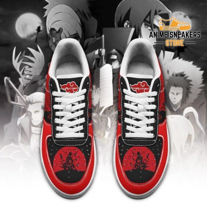 Akatsuki Sneakers Cloud Team Naruto Anime Shoes Air Force