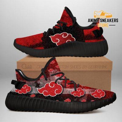 Akatsuki Cloud Yeezy Shoes Naruto Anime Sneakers Fan Tt03 Men / Us6