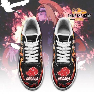 Akatsuki Deidara Sneakers Custom Naruto Anime Shoes Leather Air Force