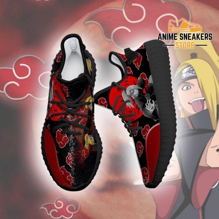 Akatsuki Deidara Yeezy Shoes Naruto Anime Sneakers Fan Tt03