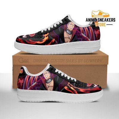 Akatsuki Hidan Sneakers Custom Naruto Anime Shoes Leather Men / Us6.5 Air Force