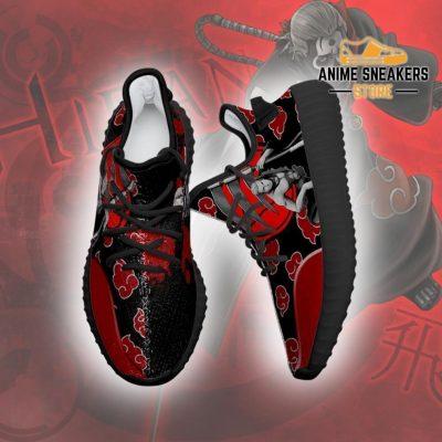 Akatsuki Hidan Yeezy Shoes Naruto Anime Sneakers Fan Tt03