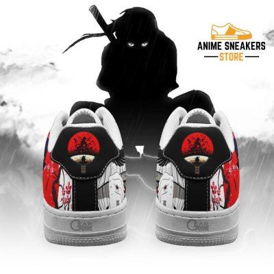 Akatsuki Itachi Sneakers Naruto Anime Custom Shoes Pt10 Air Force