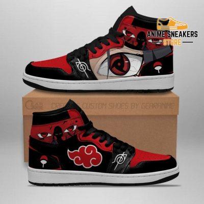 Akatsuki Itachi Sneakers Sharingan Eyes Shoes Naruto Anime Men / Us6.5 Jd