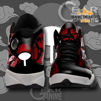 Akatsuki Itachi Sneakers Sharingan Eyes Naruto Anime Shoes Tt09 Jd13