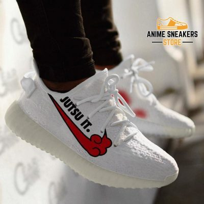 Akatsuki Jutsu It Shoes Naruto Custom Anime Sneakers Tt12 Yeezy