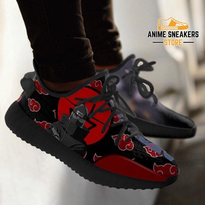 Akatsuki Kazuku Yeezy Shoes Naruto Anime Sneakers Fan Tt03
