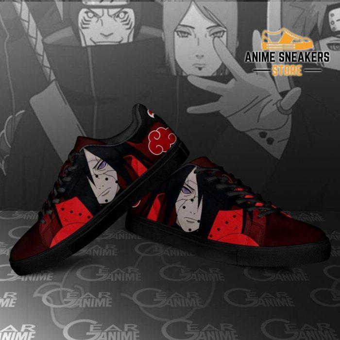 Akatsuki Madara Skate Shoes Naruto Anime Custom Pn09
