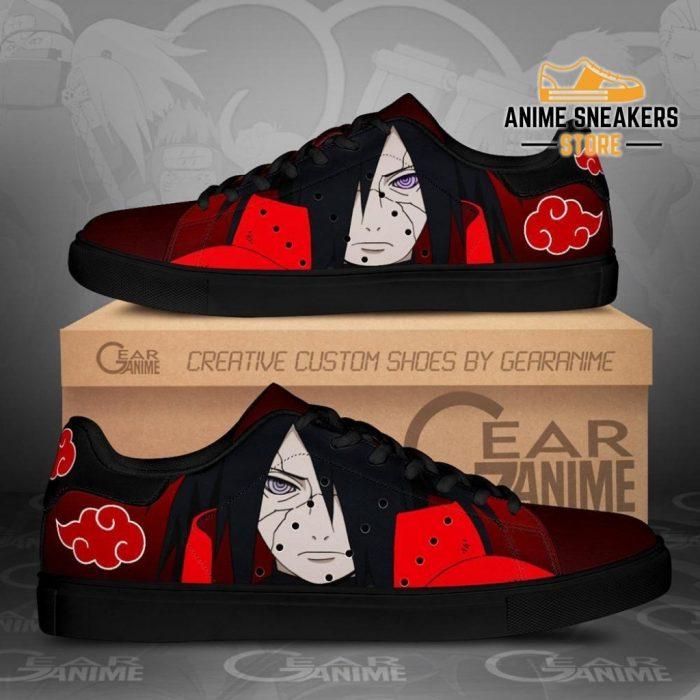 Akatsuki Madara Skate Shoes Naruto Anime Custom Pn09 Men / Us6