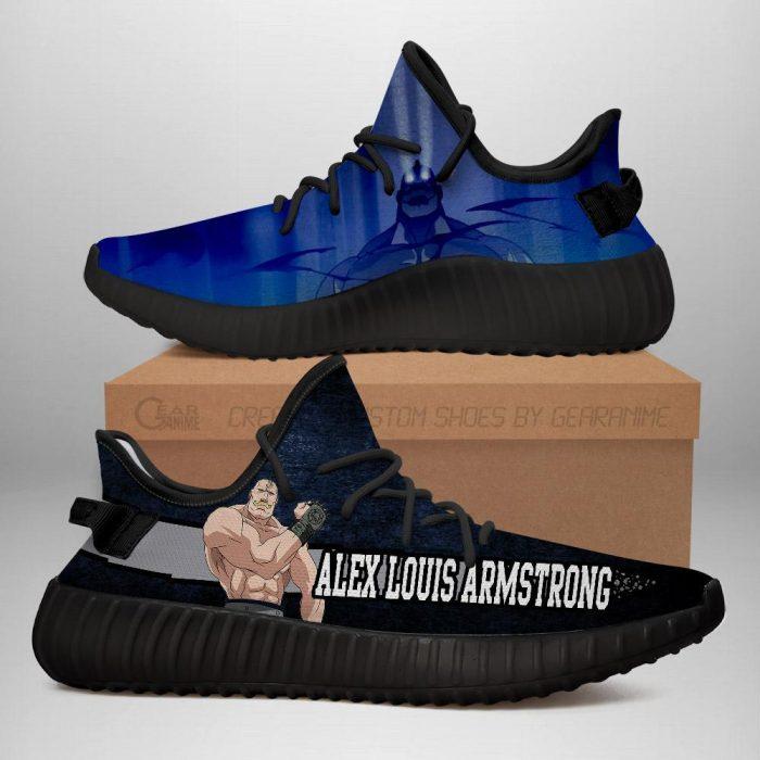 Alex Louis Armstrong Yeezy Shoes Fullmetal Alchemist Anime Sneakers Fan Gift Idea TT05 Men / US6 Official Fullmetal Alchemist  Merch