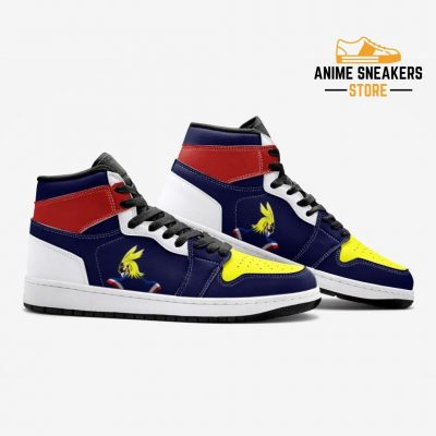 All Might My Hero Academia Custom J-Force Shoes Mens