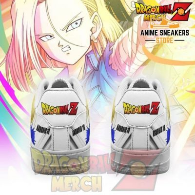 Android 18 Air Force Sneakers Custom Shoes Pt041
