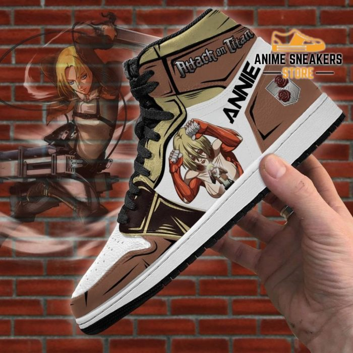 Annie Leonhart Titan Sneakers Attack On Anime Jd