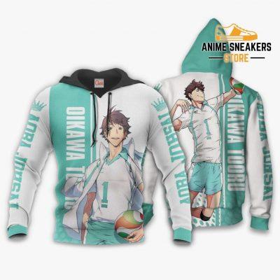 Aoba Johsai Oikawa Tooru Hoodie Haikyuu Custom Anime Shirt / S All Over Printed Shirts