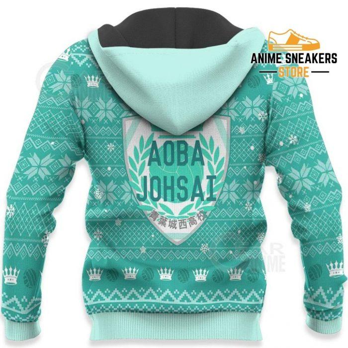 Aoba Johsai Ugly Christmas Sweater Haikyuu Anime Xmas Shirt Va10 All Over Printed Shirts