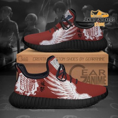 Aot Wings Of Freedom Scout Reze Shoes Attack On Titan Custom Tt11 Men / Us6