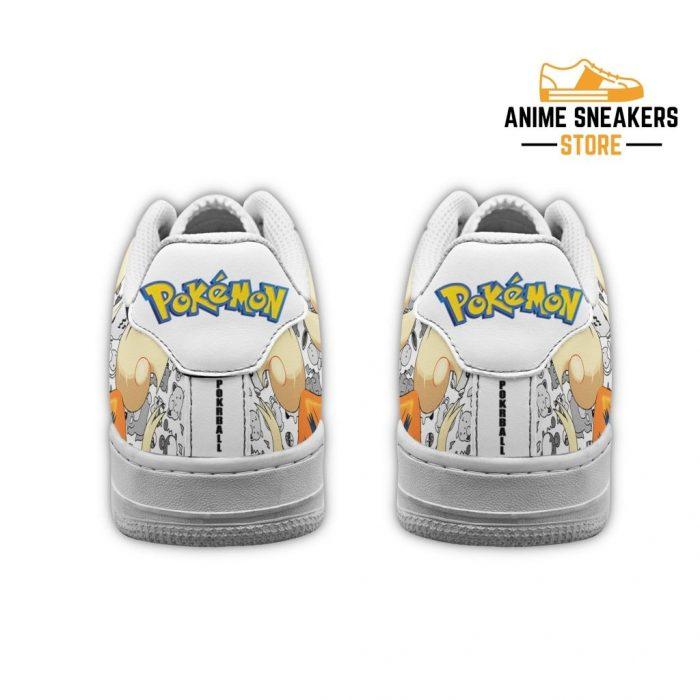 Arcanine Sneakers Pokemon Shoes Fan Gift Idea Pt04 Air Force