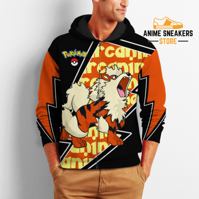 Arcanine Zip Hoodie Costume Pokemon Shirt Fan Gift Idea Va06 All Over Printed Shirts