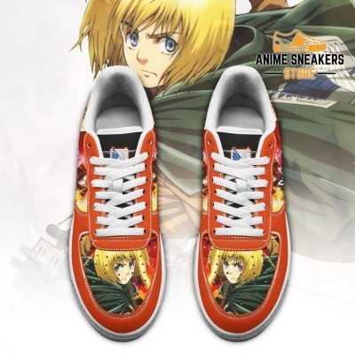 Armin Arlert Attack On Titan Sneakers Aot Anime Shoes Air Force