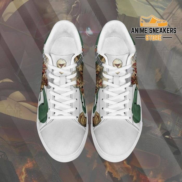 Armored Titan Skate Sneakers Uniform Attack On Anime Shoes Pn10