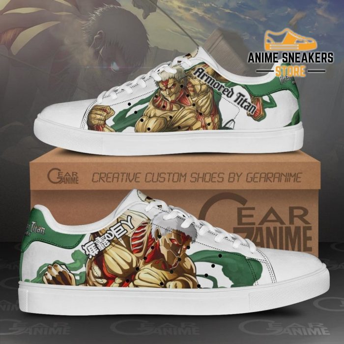 Armored Titan Skate Sneakers Uniform Attack On Anime Shoes Pn10 Men / Us6
