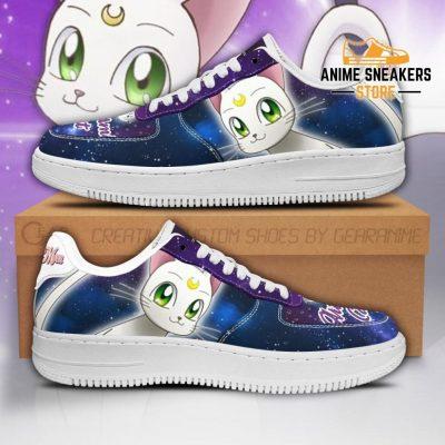 Artermis Cat Sneakers Sailor Moon Anime Shoes Fan Gift Pt04 Men / Us6.5 Air Force