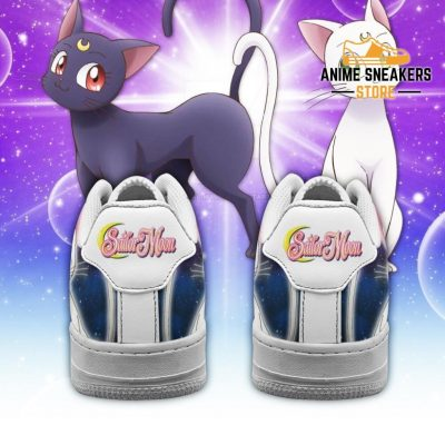 Artermis Cat Sneakers Sailor Moon Anime Shoes Fan Gift Pt04 Air Force