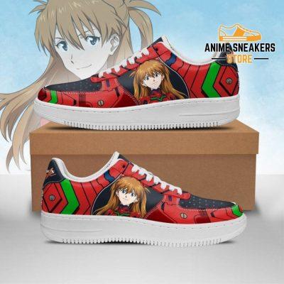 Asuka Langley Shikinami Sneakers Neon Genesis Evangelion Shoes Men / Us6.5 Air Force
