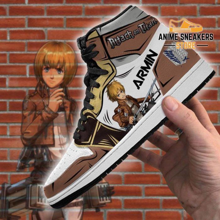 Armin Sneakers Attack On Titan Anime Jd