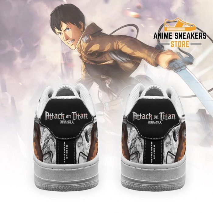 Aot Bertholdt Sneakers Attack On Titan Anime Shoes Mixed Manga Air Force