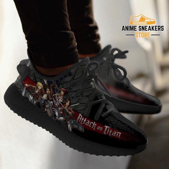 Attack On Titan Yeezy Anime Sneakers Shoes Fan Gift Idea Tt04