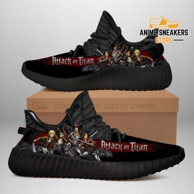 Attack On Titan Yeezy Anime Sneakers Shoes Fan Gift Idea Tt04 Men / Us6