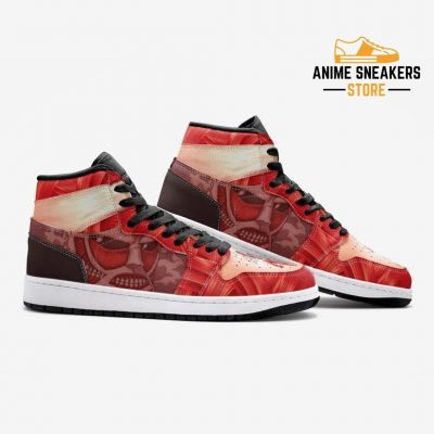 Colossal Titan Attack On Custom J-Force Shoes Mens