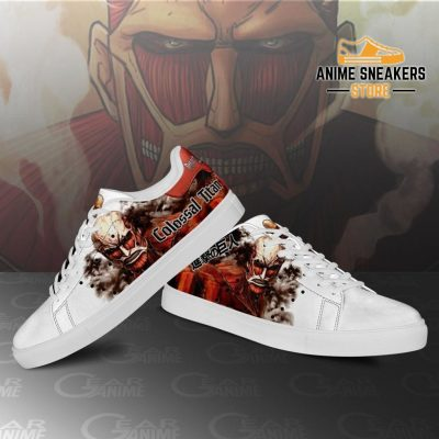 Colossal Titan Skate Sneakers Uniform Attack On Anime Shoes Pn10