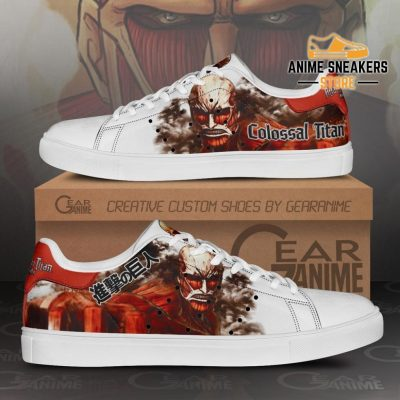 Colossal Titan Skate Sneakers Uniform Attack On Anime Shoes Pn10 Men / Us6