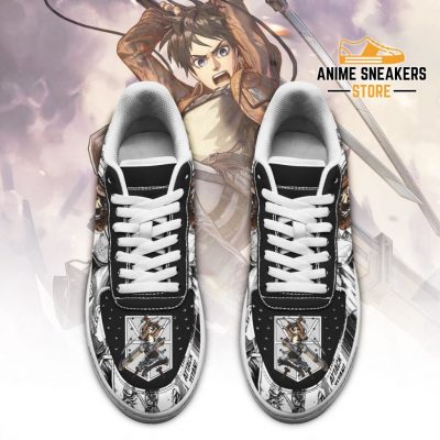 Aot Eren Sneakers Attack On Titan Anime Shoes Mixed Manga Air Force