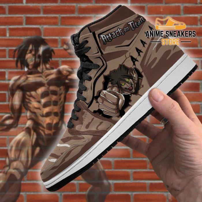 Eren Titan Sneakers Costume Attack On Anime Jd