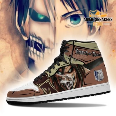 Eren Jeager And Titan Sneakers Attack On Anime Jd