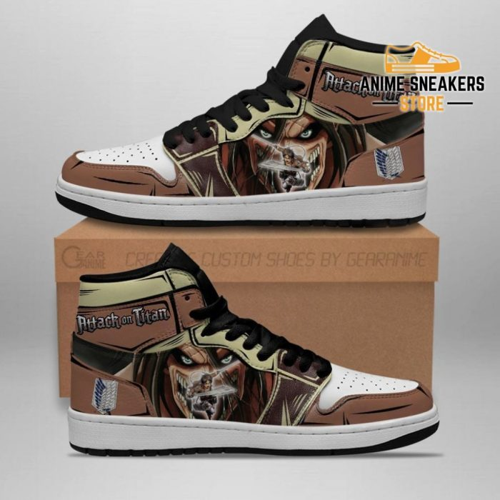 Eren Jeager And Titan Sneakers Attack On Anime Men / Us6.5 Jd