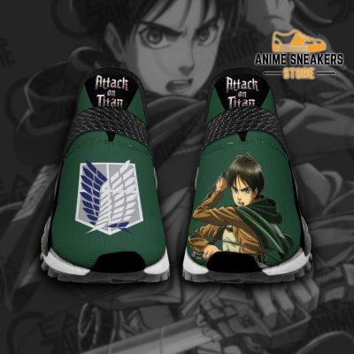 Eren Jeager Shoes Attack On Titan Anime Tt11 Men / Us6 Nmd