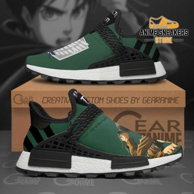 Eren Jeager Shoes Attack On Titan Anime Tt11 Nmd